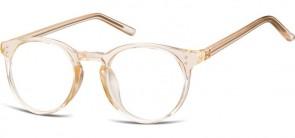 Sunoptic Brille in Sehstärke transparent pfirsich