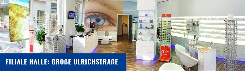 BrillenWelt Zscherben , Niederlassung Große Ulrichstraße, Halle