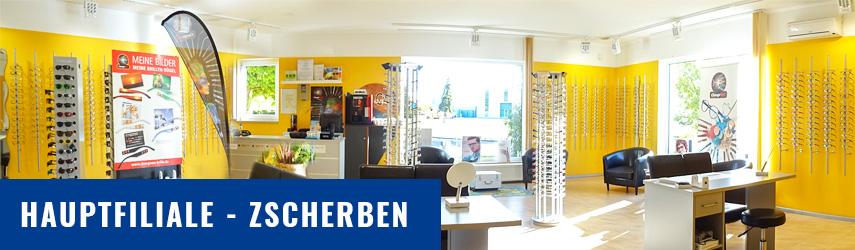 BrillenWelt Zscherben Hauptgeschäft Teutschenthal, Aussen