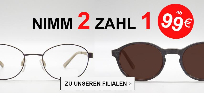 Nimm 2 Zahl 1 Brille kaufen