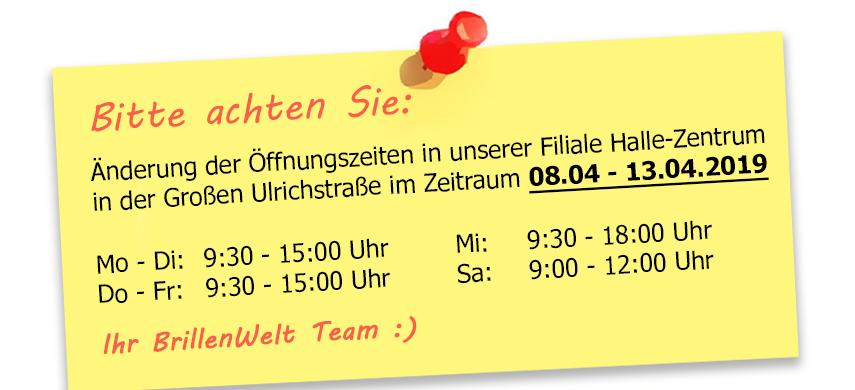 Brillenwelt Zscherben Halle Zentrum Große Ulrichstrasse 52