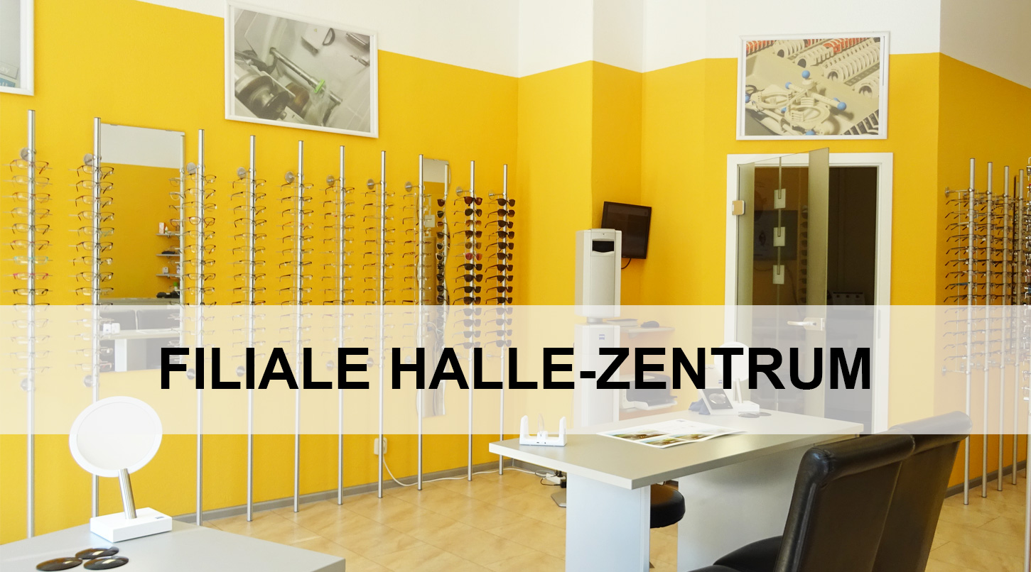 Brillenwelt Filiale Halle Zentrum am Franckeplatz