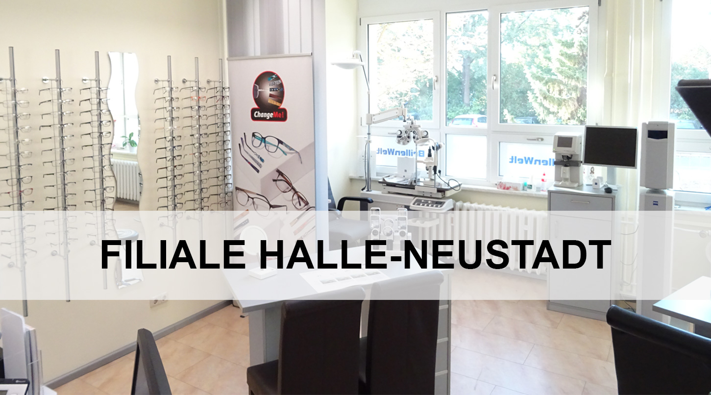 Brillenwelt Filiale Halle Neustadt