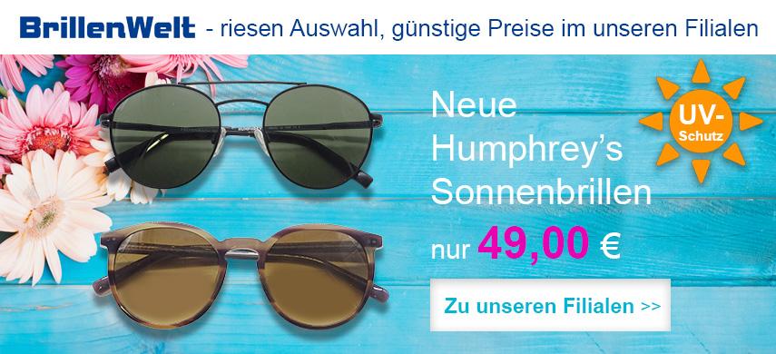 Humphreys Sonnenbrillen nur 49 € bei BrillenWelt